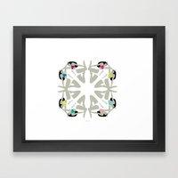 Weekend Girls Framed Art Print