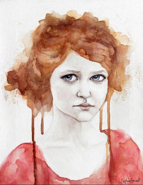 Magda Art Print