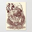KILL THE KONG Canvas Print