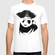 Bio Piracy Mens Fitted Tee White SMALL