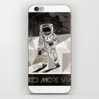 I NEED MORE SPACE iPhone & iPod Skin