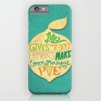 iPhone & iPod Case featuring Lemon Meringue Pie by Anne Crittenden