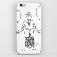 Wait & See What Happens Next iPhone & iPod Skin