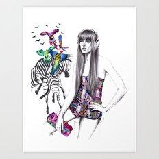 Tropic mood  Art Print