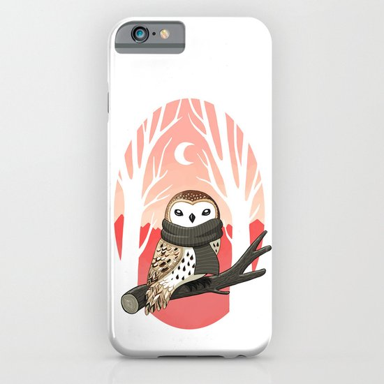 Winter Owl iPhone & iPod Case