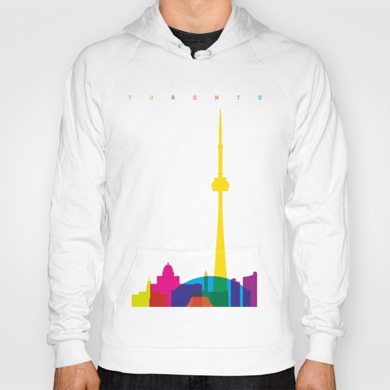 Shapes of Toronto. Accurate to scale Hoody