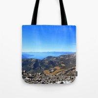The Top of Tahoe Tote Bag