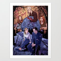 Conversations With Dead People Art Print