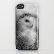 Snowy Owl - B & W iPod touch Slim Case
