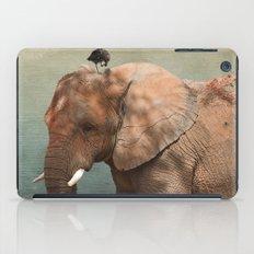 Brotherly- elephant and owl iPad Case