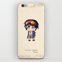 Chibi Simon iPhone & iPod Skin