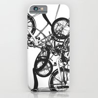 iPhone & iPod Case featuring Bike Chaos by FF designs