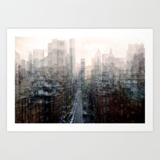Lower East Side Art Print