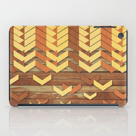 ZigZag Woody iPad Case