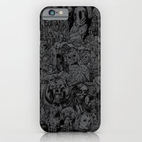 iPhone & iPod Case featuring Lost Sketches by mark kowalchuk