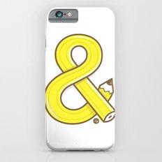 Ampersand pencil iPhone 6s Slim Case