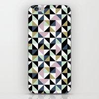 Geometric Pattern 01 iPhone & iPod Skin