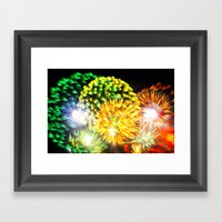 Efflorescence 11 Framed Art Print