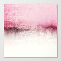 SNOWDREAMER PINK  Canvas Print