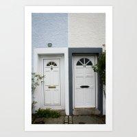 Front Doors Art Print