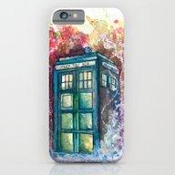 Doctor Who Tardis iPhone 6 Slim Case
