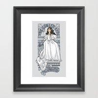 Theatre De La Labyrinth … Framed Art Print