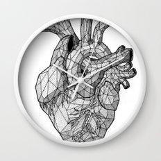 Anatomy // The Heart Wall Clock