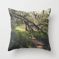 Southern Secrets I Throw Pillow