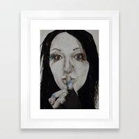 Inner Struggle Framed Art Print