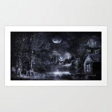 Magical Night Art Print