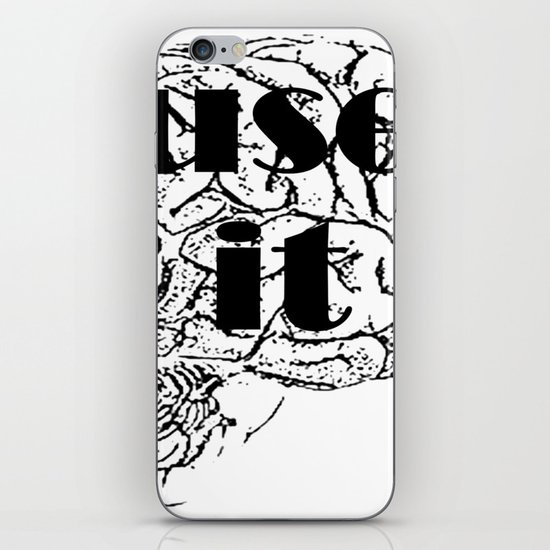 USE IT iPhone & iPod Skin