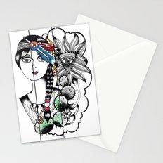 Cactus Eye Pop Style Stationery Cards