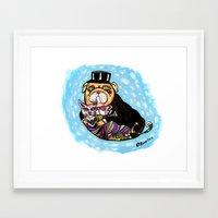 Onita & Melvin Framed Art Print