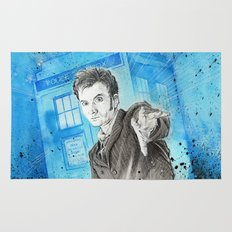 Doctor Who: The 10th Doctor Rug