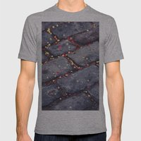 Rocks, stars, hearts Mens Fitted Tee Athletic Grey SMALL