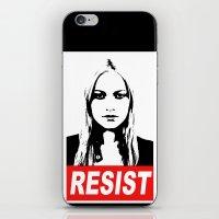 Resist iPhone & iPod Skin