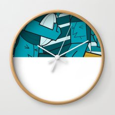 Rugby 1 Wall Clock