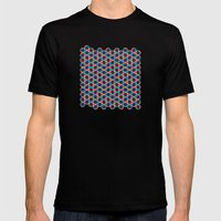 BP 78 Star Hexagon Mens Fitted Tee Black SMALL