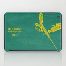 Bioshock Typography iPad Case