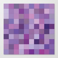 Rando Color 3 Canvas Print