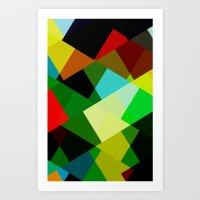 Colors! Art Print