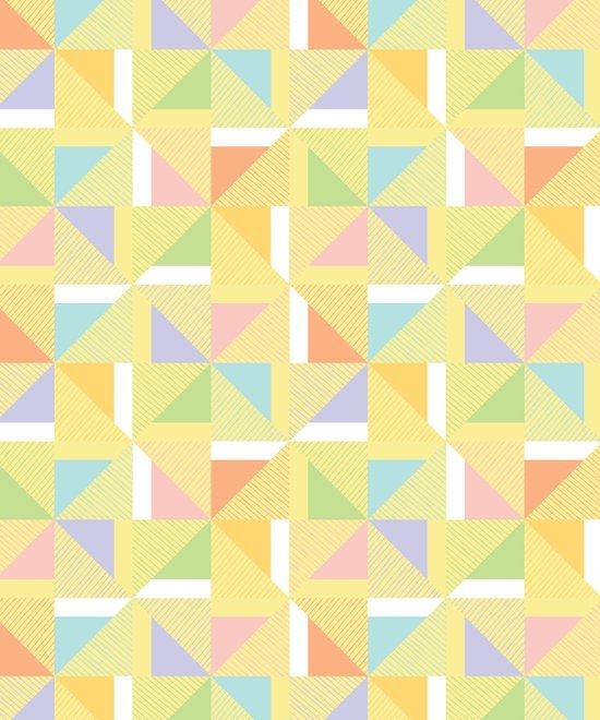 PINWHEELS - YELLOW Art Print