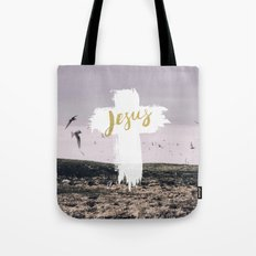 JESUS   EASTER   CROSS Tote Bag