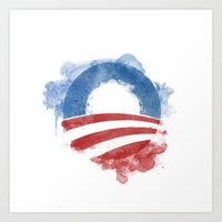 Artists For Obama Art Print