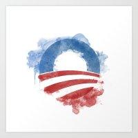 Artists For Obama Art Print