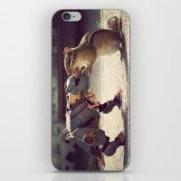 Grimlock vs Munkzilla iPhone & iPod Skin