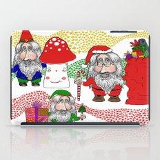 Christmas Santa, Gnome and Elf iPad Case