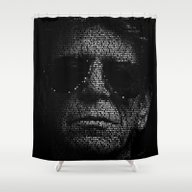 LOU REED, SO FREE. Shower Curtain