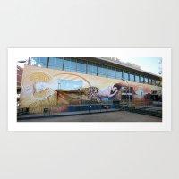 Klimt Tribute Art Print