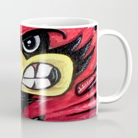 Fighting Cardinal Mug